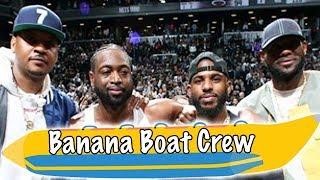 Banana Boat Crew CELEBRATE Dwyane Wade's FINAL NBA Game!