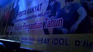 KEMBANG API Malam Tahun Baru di kab Melwi kalbar Radja band feat Tanya Management