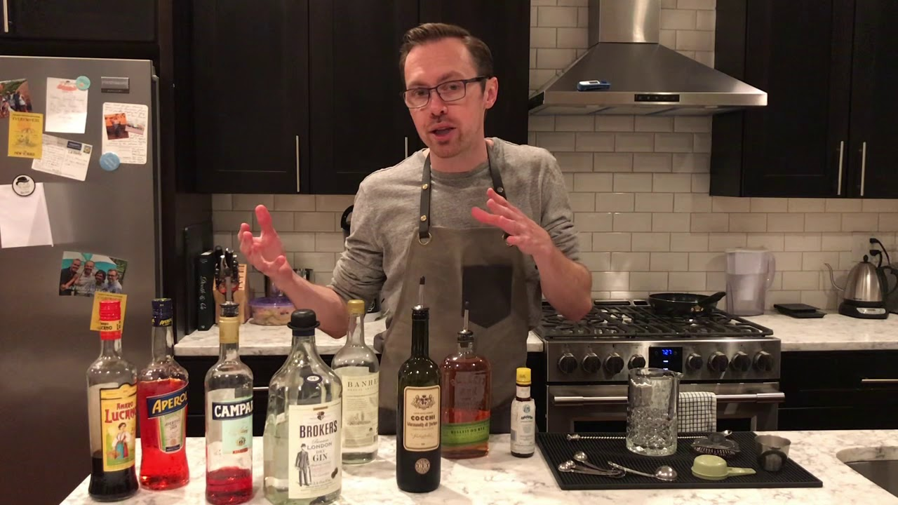 Manhattan, Martini family: Quarantine Cocktail Kitchen