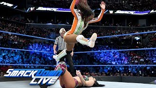 Naomi vs. Peyton Royce: SmackDown LIVE, Aug. 21, 2018