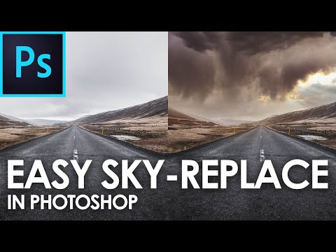 How to do Sky Replacement in Photoshop 2021 | Easily Replace the Sky in an Image