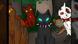 """Коты Воители. Кадры из """"Битва за лес"""". Арты не мои"""