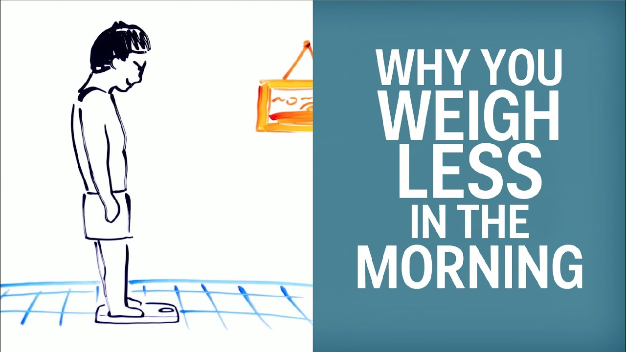 This Is Why You Weigh Less in the Morning