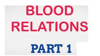 Blood relations part 1 || in Telugu