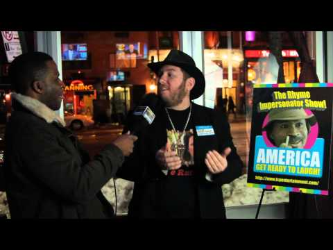 """J. Samuel Ryan"" Interview with Celebrity Host ""Richard Oliver Jr. on The Rhyme Impersonator Show!"