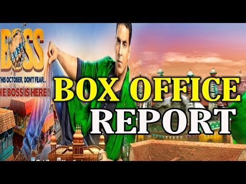 Boss Box Office Collection Report  Akshay Kumar