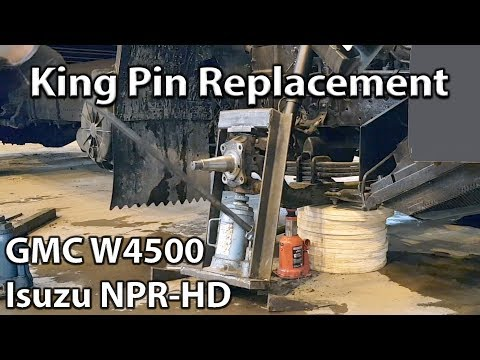 King Pin Replacement Isuzu NPR-HD (GMC Truck W4500)