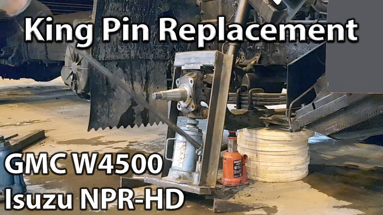 medium resolution of king pin replacement gmc truck w4500 isuzu npr hd