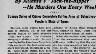 The Serial Killer Podcast #4 - The Atlanta Ripper