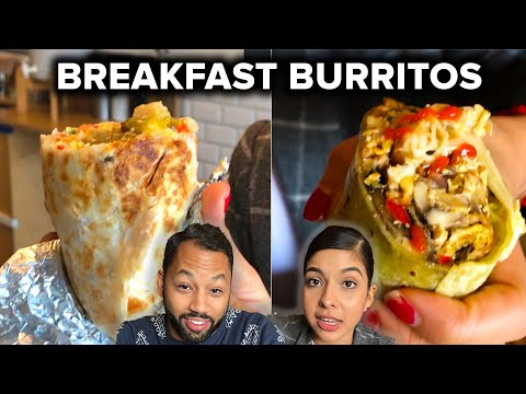 We Tried To Find The Best Breakfast Burrito In LA