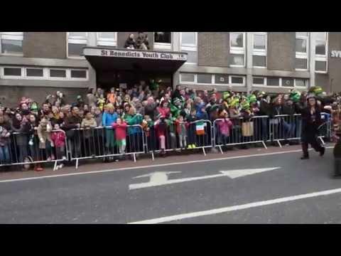 St Patrick's Day  Parade 2015 - Dublin , Ireland