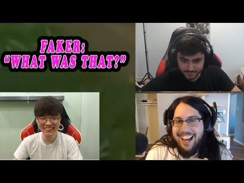 YASSUO UNSUBS FROM TYLER1 | FAKER REACTS TO HILARIOUS INTERACTION OF KLED ULT | VOYBOY | LOL MOMENTS