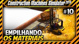 Construction Machines Simulator 2016 - Começamos a Construir Tubulações e Ferragem