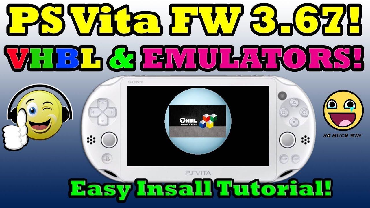 how to put emulators on ps vita 3.67