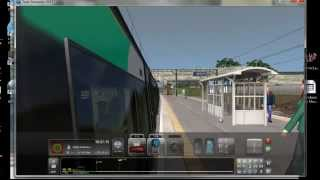 train simulator 2013 London Midland train to Ealing Broadway WITH COMENTRY