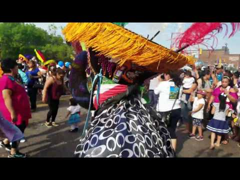 Festival 5 de Mayo en Minneapolis Minnesota, Lake Street. 05/14/17.