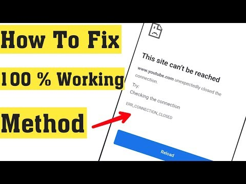 How To Fix This Site Can't Be Reached In Android Mobile - 2020 || Site Can't Reached Error In Chrome