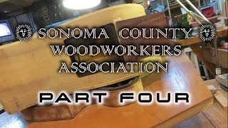 Sonoma County Woodworkers ~Tom Ribbecke & Bobby Vega: PART FOUR