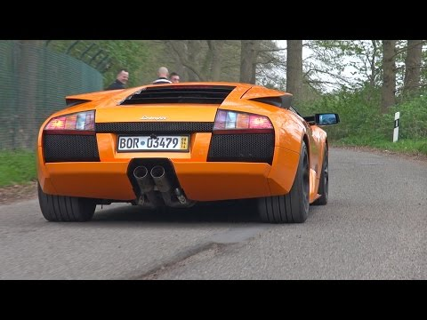 Lamborghini Murcielago 6.2 V12 - Lovely Exhaust Sounds!