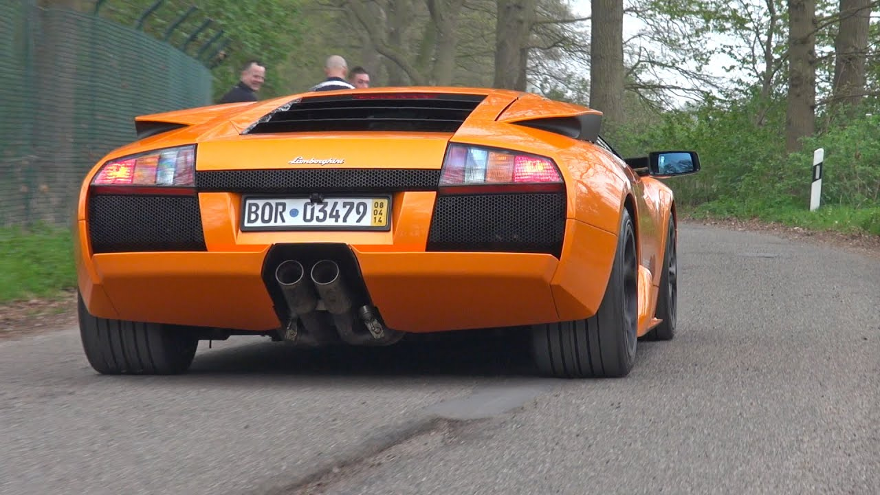 lamborghini murcielago 6 2 v12 lovely exhaust sounds youtube. Black Bedroom Furniture Sets. Home Design Ideas