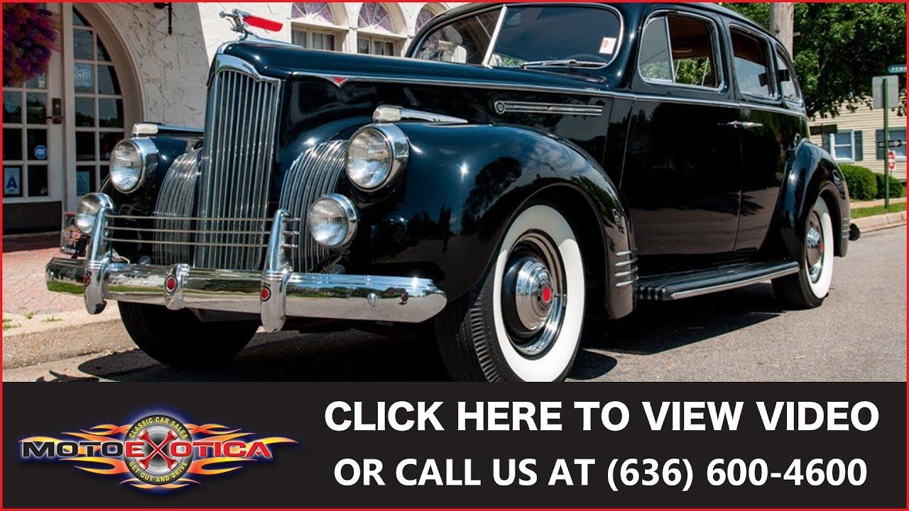 1941 Packard Series 110 Sedan || SOLD