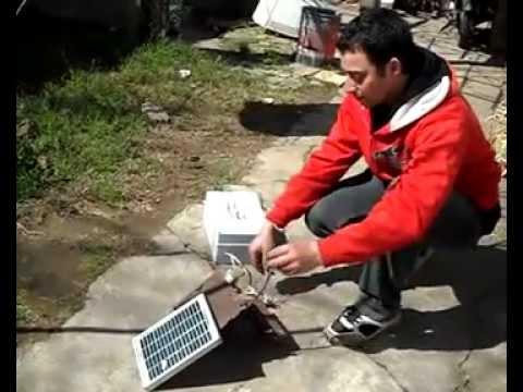 electrificador de alambrados prueba real con panel solar ... - photo#20