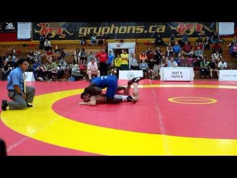 2015 Canada Cup: 97 kg Jeremy Latour (CAN) vs. Javier Cortina Lacerra (CUB)