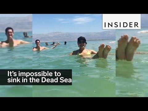 It's Impossible To Sink In The Dead Sea
