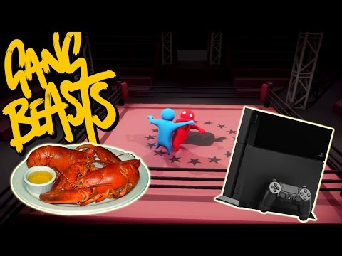 Gang Beasts - THE BET [Dinner or Playstation 4] - Father Versus Son