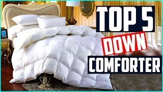 Top 5 Best Down Comforter 2019