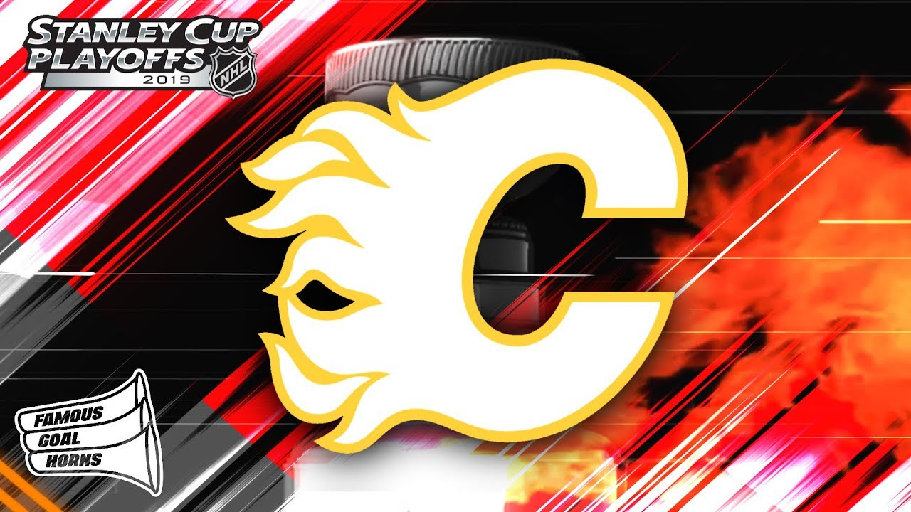 Calgary Flames 2019 Playoffs Goal Horn Youtube