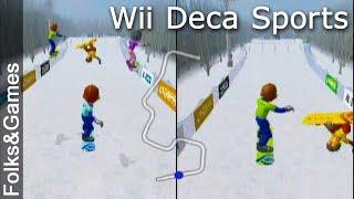 Wii Deca Sports 2 - Snowboarding - Folks & Games