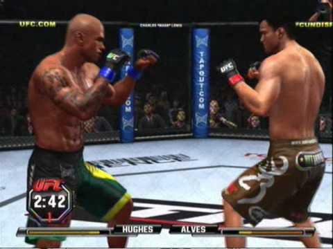 UFC Undisputed 10 Matt Hughes Vs. Thiago Alves