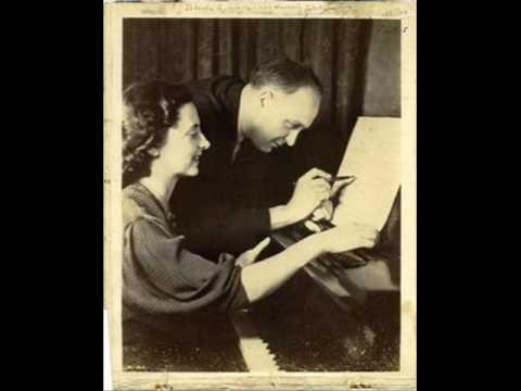 Robert and Gaby Casadesus play Debussy Petite suite 2/2