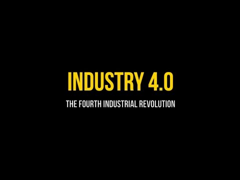 The fourth industrial revolution - Industry 4 0