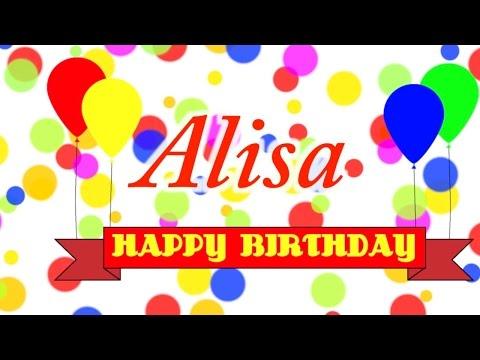 Happy Birthday Alisa Song
