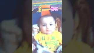 Cute baby tik tok video