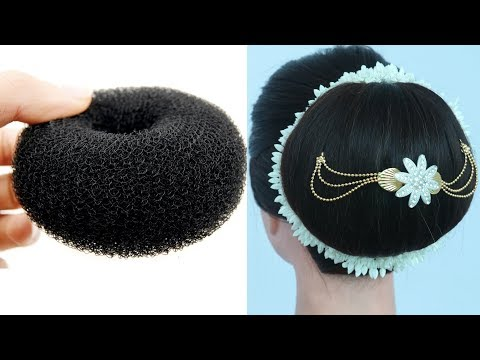 big bun hairstyle with trick   hairstyle for women   updo hairstyle   prom hairstyle   thumbnail