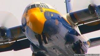 2013 NAF El Centro Air Show - Blue Angels C-130 FAT ALBERT