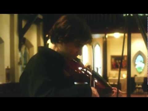 Baroque Violinist Aaron Brown performs Sonata Prima by Dario Castello