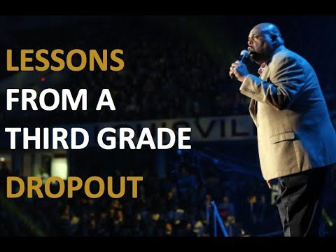 Inspiring Speech: By Dr Rick Rigsby - A Third Grade Dropout