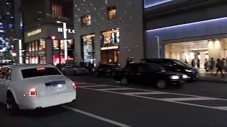 WOW KETEMU MOBIL MEWAH YANG PANJANGNYA MINTA AMPUN DI GINZA 9 !! JAPAN BACKPACKER #58
