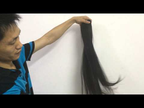 Factory wholesale supply high ratio virgin hair nearly double drawn good price
