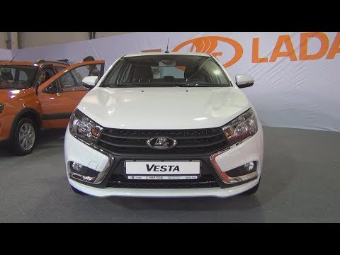 Lada Vesta (2018) Exterior and Interior