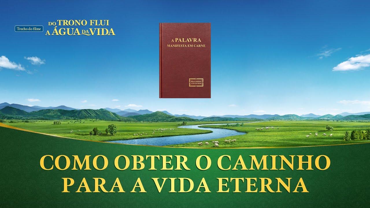 """Filme evangélico """"Do trono flui a água da vida"""" Trecho 8 – Como obter o caminho para a vida eterna"""