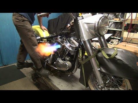 1965 panhead #160 74ci flh motor rebuild and bike repair harley by tatro machine