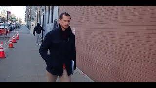 Anthony Weiner seen leaving New York halfway house|WORLD NEWS|