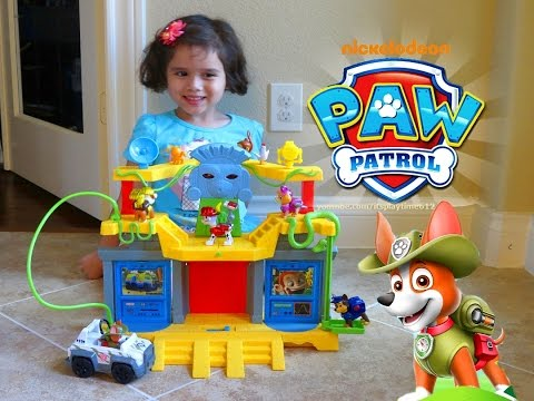 Thumbnail: PAW PATROL MONKEY TEMPLE PLAYSET Toys Review | itsplaytime612