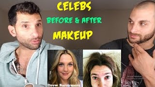 Download Video CELEBS Before and After Makeup [REACTION] MP3 3GP MP4