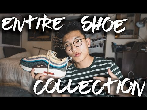 My ENTIRE Shoe Collection – Sean Wotherspoon 1/97, Yeezy 350, Adidas Contential 80s